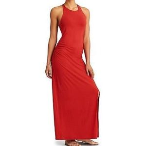 Athlete Serenity Maxi Dress in Red